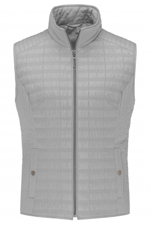 Lightweight Padded Gilet - Silver - 70690012-90