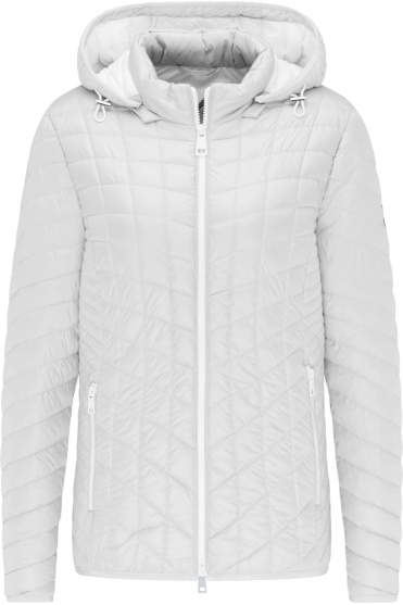 Lightweight Padded Jacket - Off White - 70610012-11