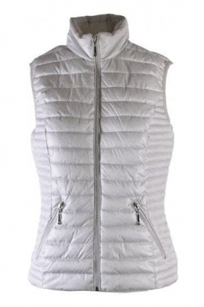 Quilted Light Down Gilet - Silver - 51050002-91