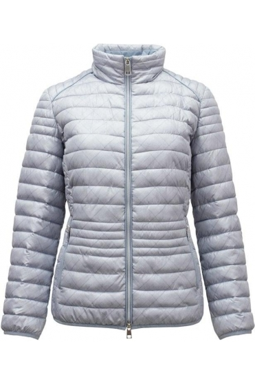 Quilted Light Down Jacket - Silver - 50890002-91