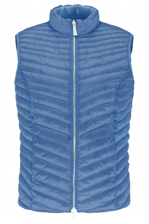 Reversible Padded Gilet - Denim - 70730012-83
