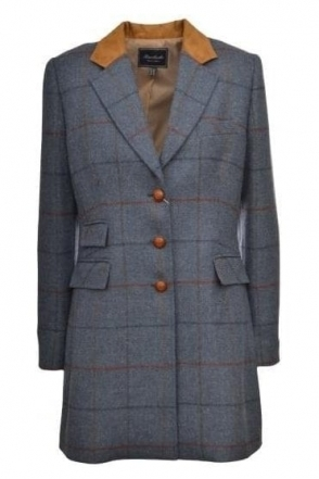 Check Tweed 3/4 Length Sajonia Jacket