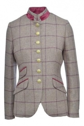 Check Tweed Baviera Jacket