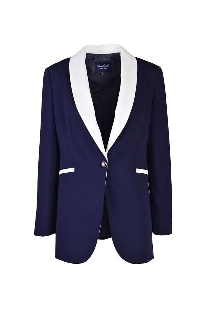 Bariloche Marchena Tailored Blazer - Navy - Marchena