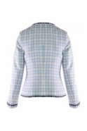Bariloche Pearl Detail Short Celtico Jacket - Blue - Celtico
