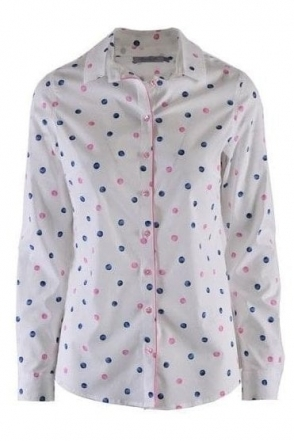 Spot Print Conil Shirt - Pink - Conil