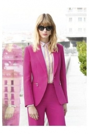 Tailored Palaos Blazer - Fuchsia - Palaos