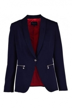 Tailored Palaos Blazer - Navy - Palaos