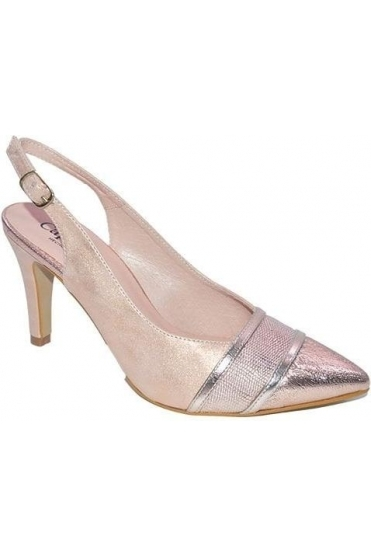 Elisse Shoe and Bag Set - Rose Gold - Elisse C529