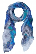 Dolcezza Mixed Marble Print Scarf - Multi - 21908