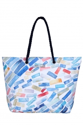 Watercolour Paint Print Bag - Multi - 21950