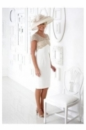Dress Code by Veromia Lace Detail Latte/Ivory Two Piece  - DC361