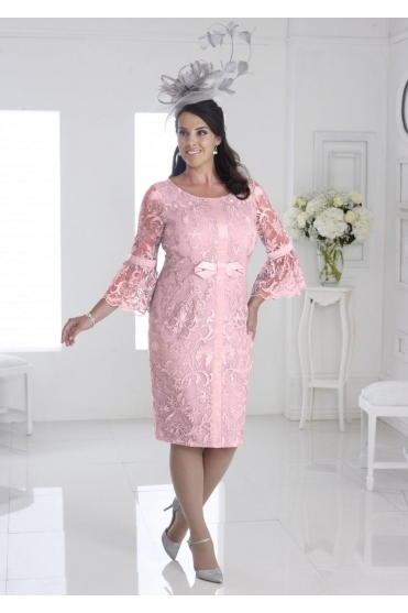 Bell Sleeves Lace Dress - DU284