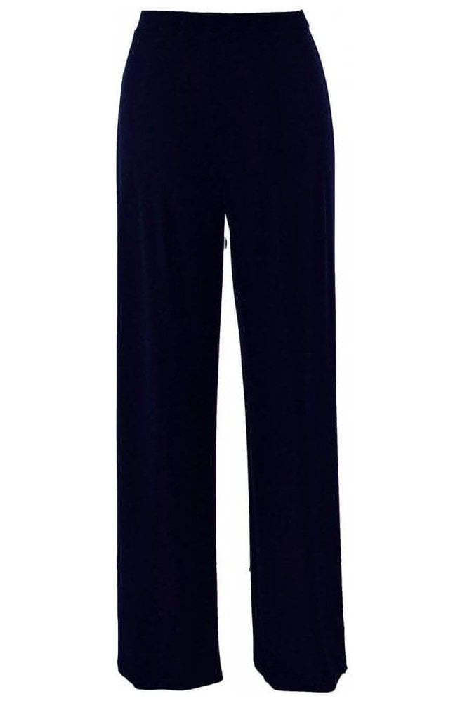 Frank Lyman Basic Wide Leg Trousers - Midnight - 006