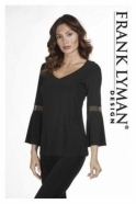 Frank Lyman Flared Sleeved Top - 183014