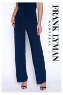 Frank Lyman Sequin Detail Co-ord Trouser 3 Piece - Midnight - 199003/199198/199199