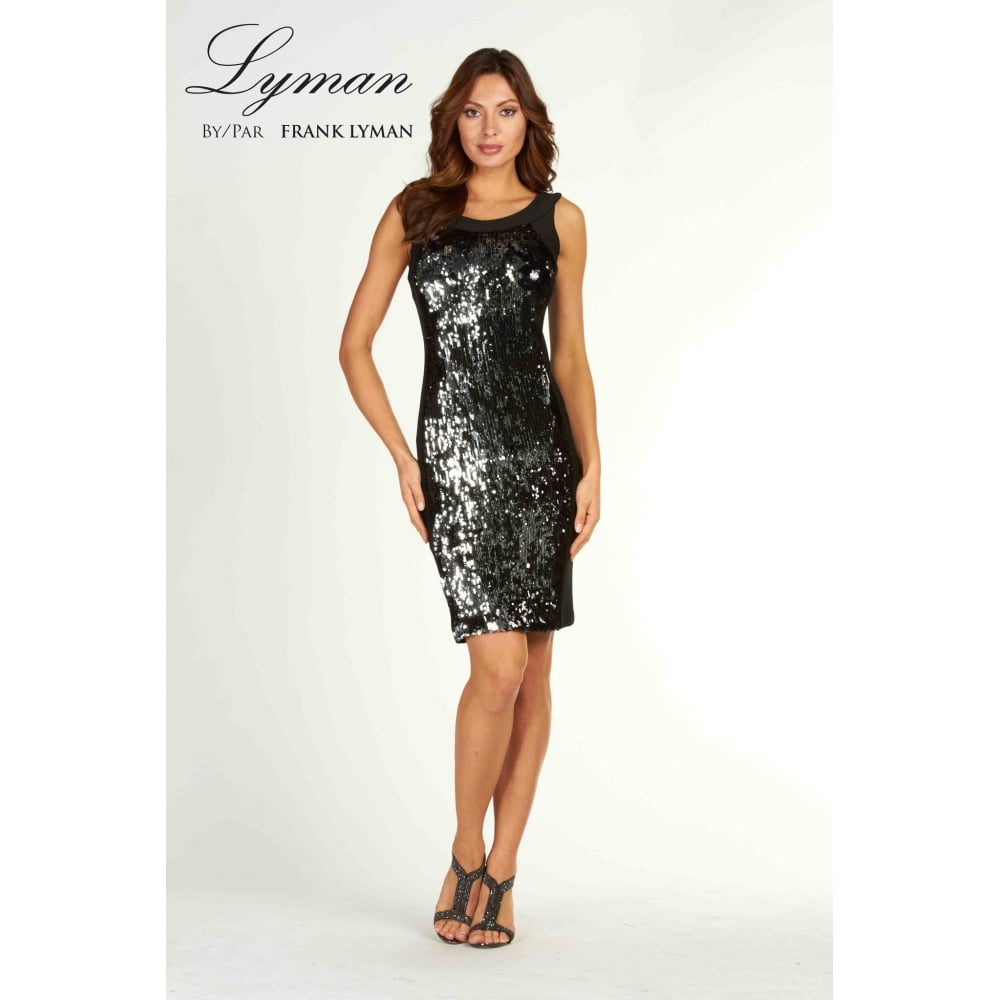 cdeca41e Frank Lyman | Sequin Panel Dress | 69154 | Bentleys Banchory