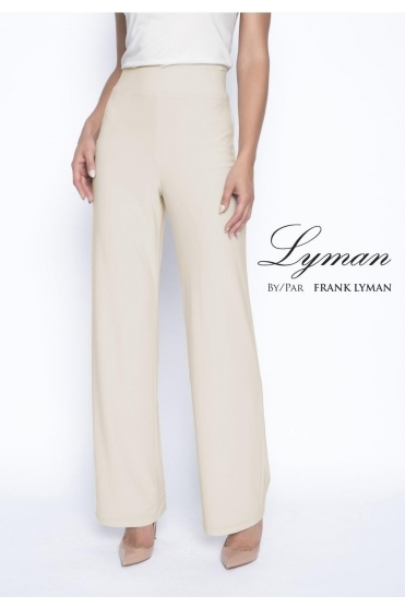 Straight light weight Trousers - Champagne - 198031