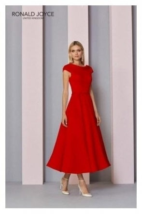 Jewel Embellished Dress - 29321 Red