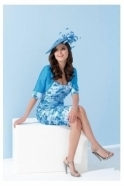 Ispirato Floral Print Ruched Two Piece - IW920