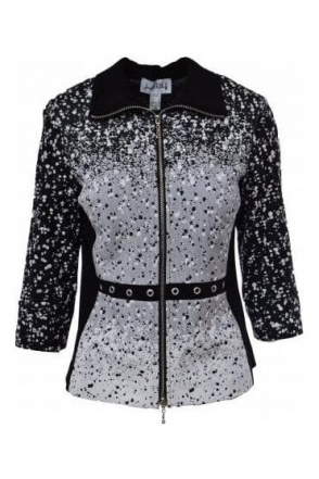 Applique Textured Jacket - 183540