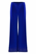 Joseph Ribkoff Embellished Detail Pull on Trousers - Royal Sapphire - 192108
