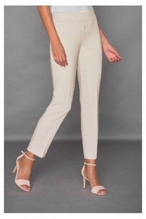 High Elastic Waist Laurie Trousers - Champagne - 143105J