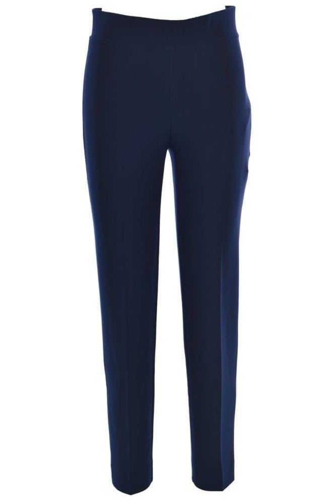 Joseph Ribkoff High Elastic Waist Laurie Trousers - Midnight - 143105