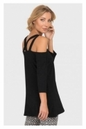 Joseph Ribkoff Off The Shoulder Strap Detail Top - 192073