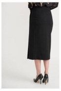 Joseph Ribkoff Pencil Wrap Skirt - Black - 203587