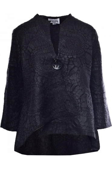 Textured Laser Cut Jacket - 184993X