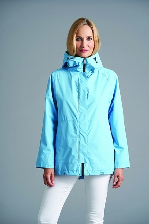Hooded Rain Jacket - Ocean Blue - 2294-88-57