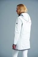 Junge Lined Rain Jacket - Off White - 2292-88-10