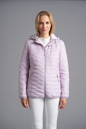 Quilet Panel Jacket - Lavender - 2253-66-37