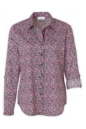 Animal Print Cotton Shirt - 41709