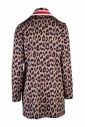 Just White Animal Print Cover Up - 41757