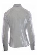Just White Crinkled Embellished Shirt - 41984