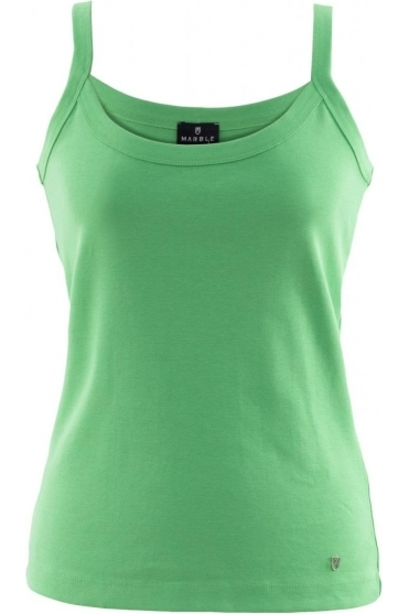 Basic Vest Top - Green - 2534-124