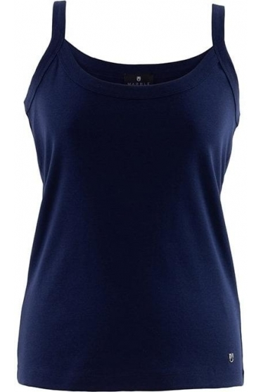 Basic Vest Top - Navy - 2534-103