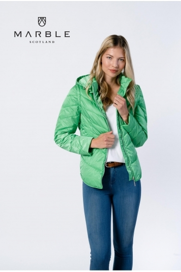 Shower Resistant 2 in 1 Gilet/Jacket - Green - 6136-124