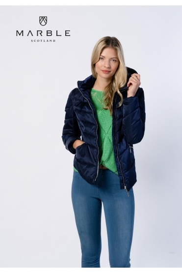 Shower Resistant 2 in 1 Gilet/Jacket - Navy - 6136-103