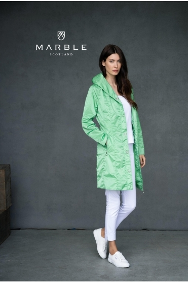 Shower Resistant Lightweight Jacket - Green - 6138-124