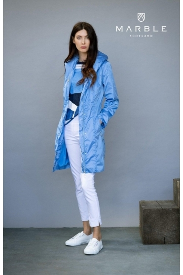 Shower Resistant Lightweight Jacket - Mid Blue - 6138-190
