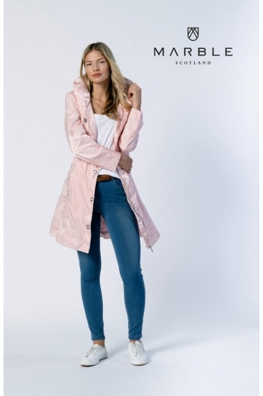 Shower Resistant Lightweight Jacket - Pale Pink - 6138-120