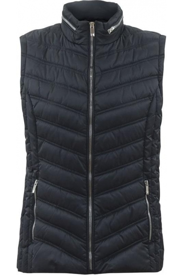 Shower Resistant Quilted Gilet - Charcoal - 5469-105