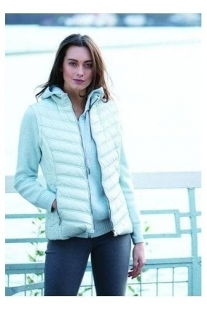 Shower Resistant Quilted Gilet - Ice Blue - 5469-167