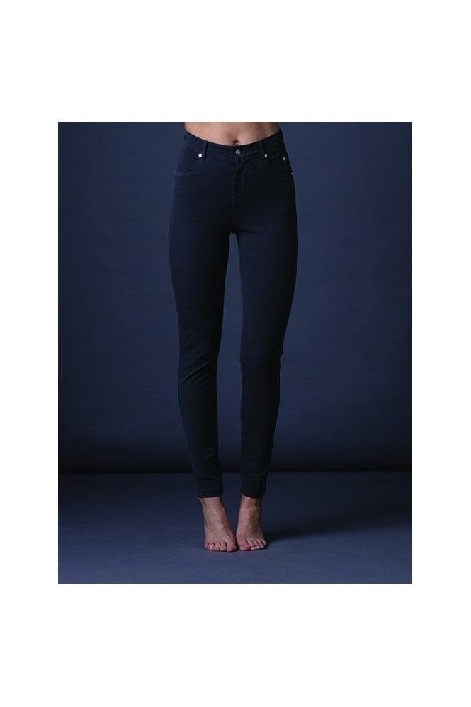 Marble Soft Skinny Leg Jeans - Charcoal - 2402-105