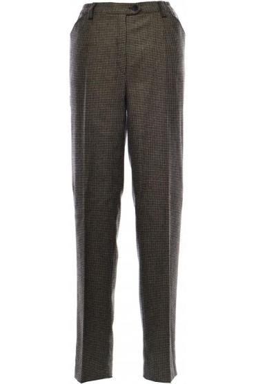 Blue Dot Comfort Dogtooth Wool Trousers - 1135-2563 ... d8ce15a12