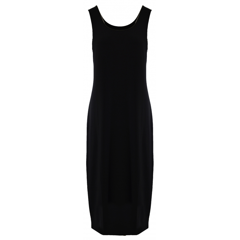 b148e683ee0 Naya Sleeveless Jersey Dress - Black - NAW19-235. Click to enlarge