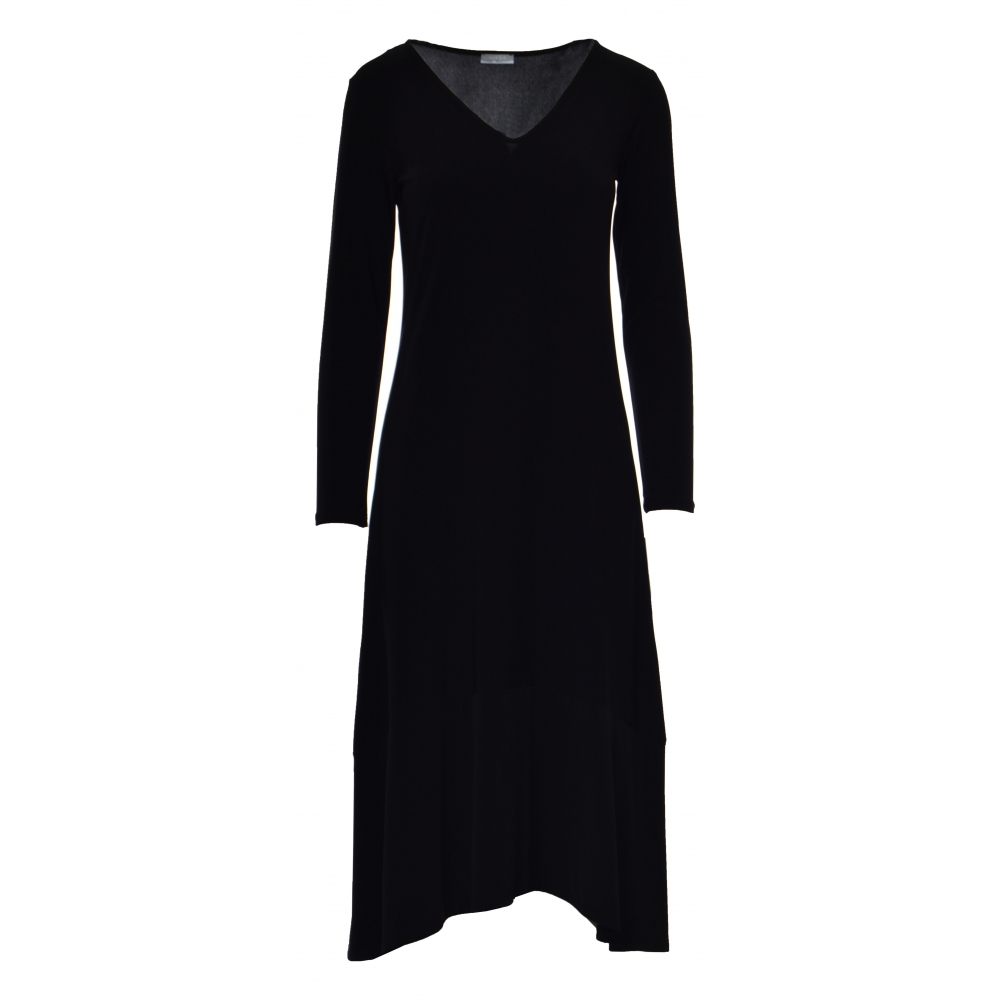 8cc9fe2d8d9 Naya V-Neck Jersey Dress - NAW18-161 ...